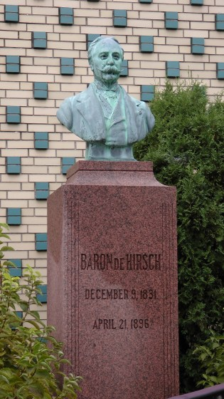 The Baron de Hirsch Monument