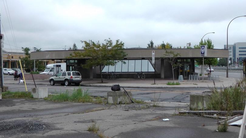 Metro de la Savane (from the vacant lot across the street)