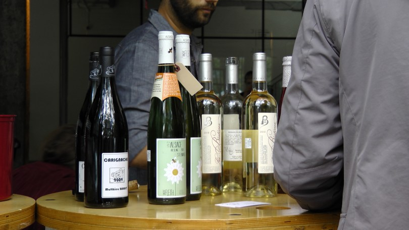 A selection of wine from La QV.