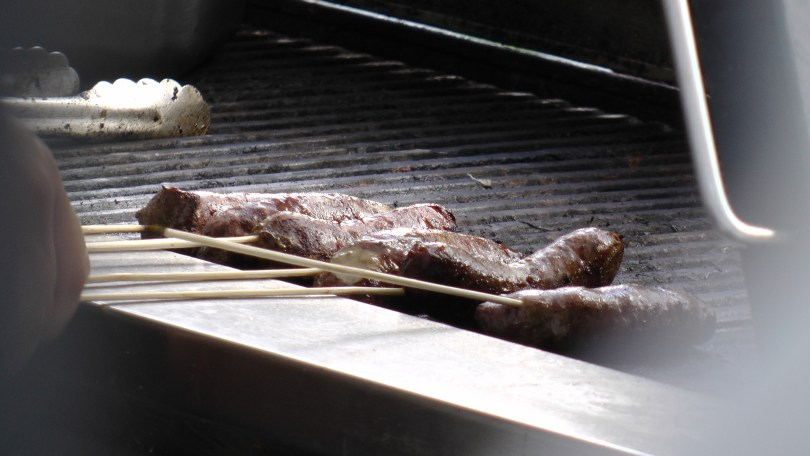 Grilled Game meat from Experience Kangourou.