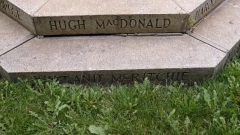 Hugh MacDonald and Wayland McRitchie
