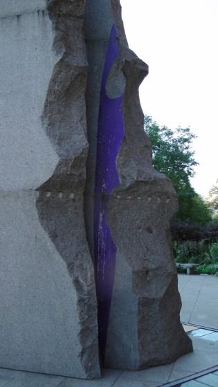 Detail of Obélisque en hommage à Charles de Gaulle by Olivier Debré