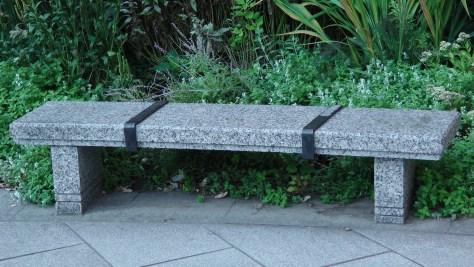 Bench for Obélisque en hommage à Charles de Gaulle by Olivier Debré
