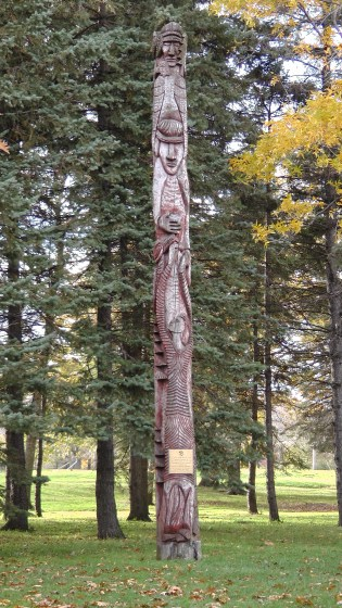 A Montreal Totem Pole