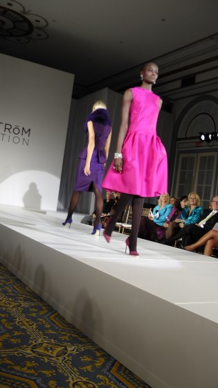 The Heavy Organza Dress in Fuschia from the Lundström Fall 2012 Collection