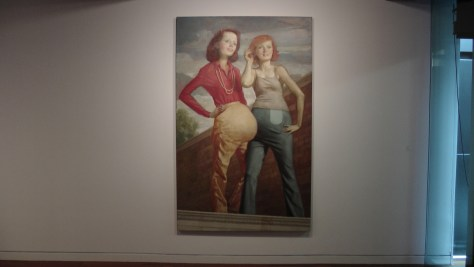 Patch and Pearl by John Currin