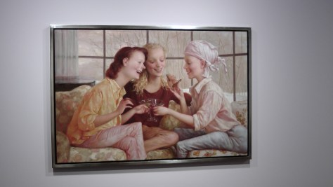 Stamford  after Brunch by John Currin