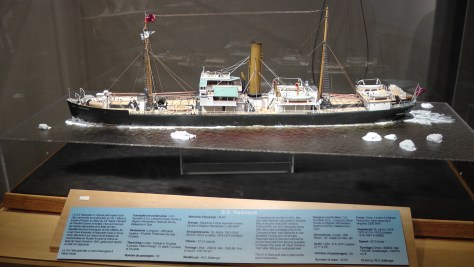 Cool model of the S.S. Nascopie.