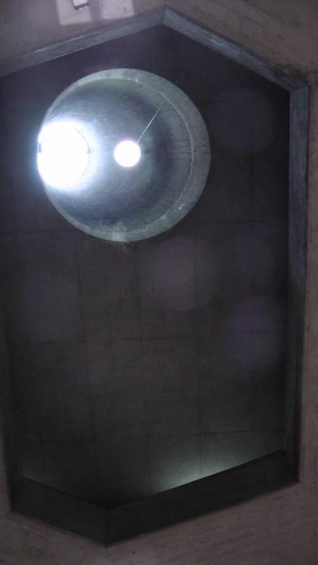 Interior view of the frustrum