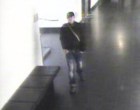 CC Camera image of the suspect.
