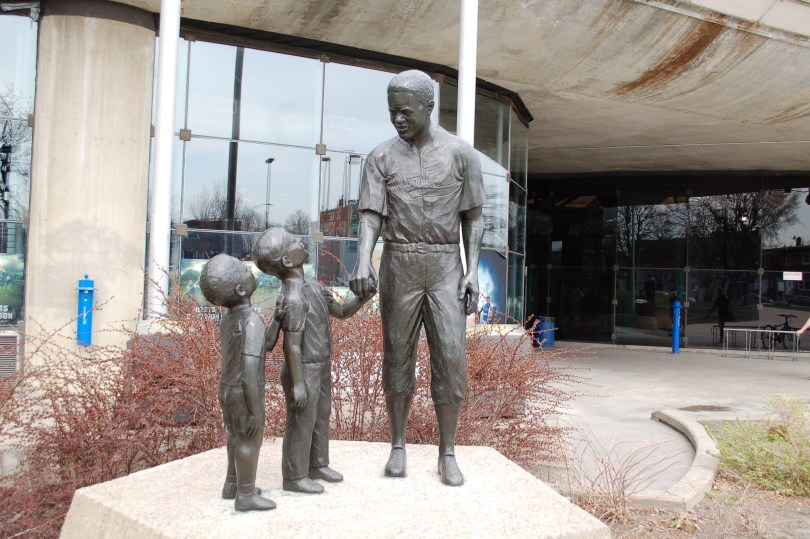 Jackie Robinson Statue by Jules Lasalle at the Olympic Stadium