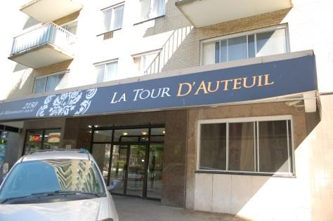 La Tour D'Auteuil on de Maisonneuve W