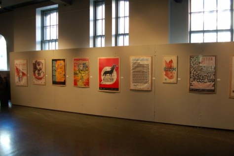 Installation view of Publicité Sauvage 25½, exhibit 5/15