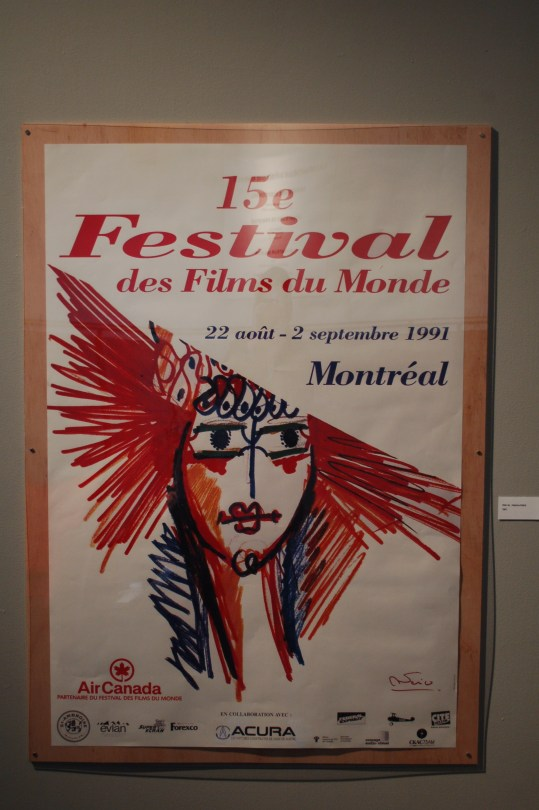 Poster for the 15th Montreal World Film Festival by Federico Fellini