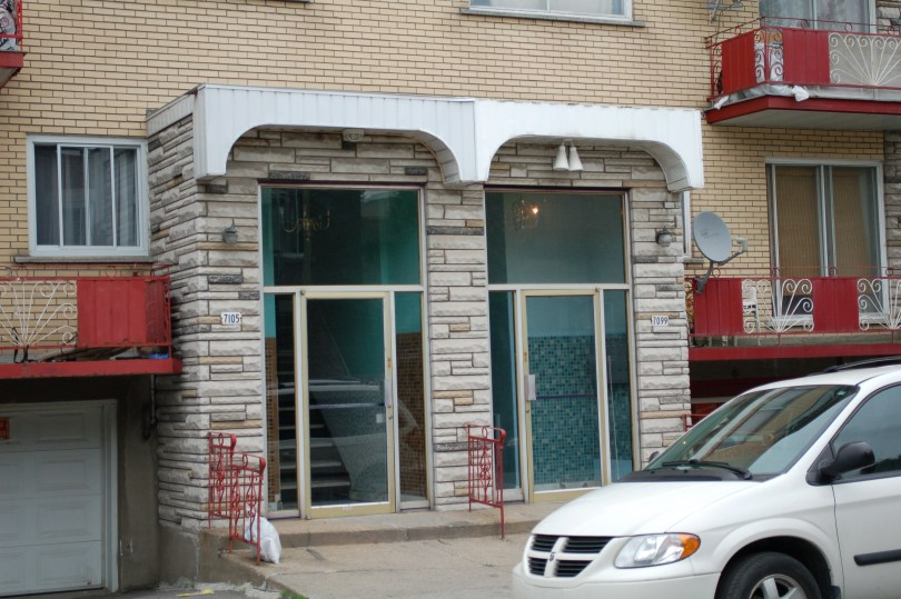 Stone and Plaster Awning