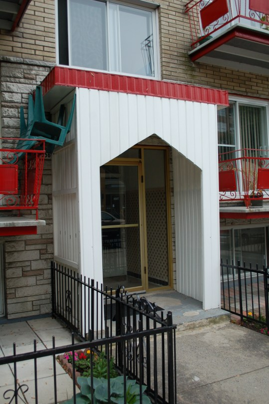 Corrugated Aluminum to protect you from the rain