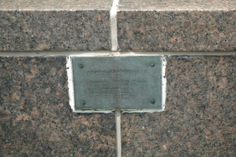 Plaque for Allégrocube by Charles Daudelin