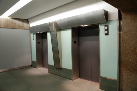 More elevators at Place Bonaventure