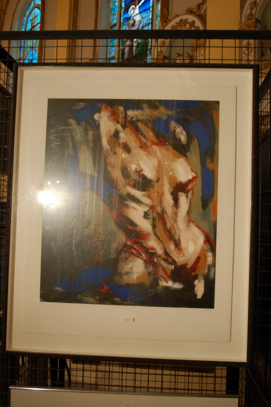 Johanne Corno, Breast and Blue at Iegor - Hôtel des Encans, June 19, 2012. Did not sell