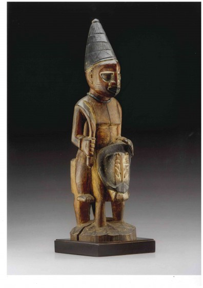 Yoruba Sculpture of a horseman
