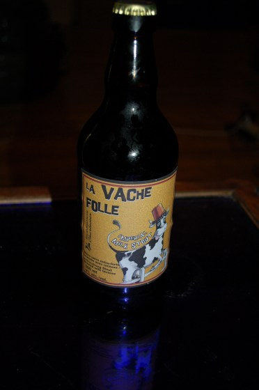 La Vache Folle Imperial Milk Stout (front label)