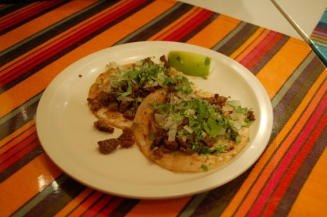 Suadero Tacos at Taqueria Matraca