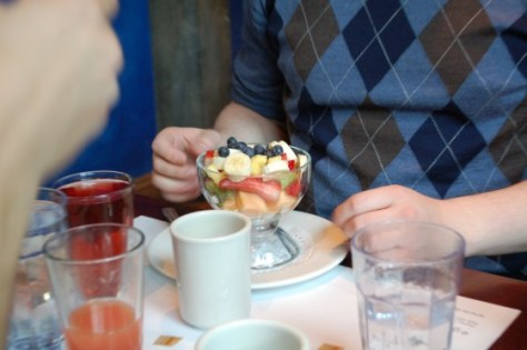 Fruit Cup at Eggspectations