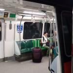 シンガポールの電車