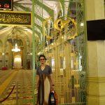 カンポンのモスク内は短パンNG