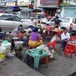 ヤンゴンの町の風景