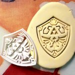 Crunch on some Hylian Shield cookies at your next tea party