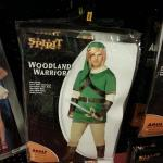 "Dress up this Halloween as Hyrule's knock-off hero, ""Woodland Warrior"""