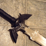Dark Link sword replica donated to charity, discounts available on Master Sword replicas