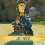 Toon Link Amiibo is compatible with Hyrule Warriors and Mario Kart 8
