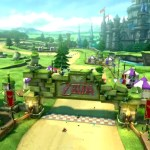 Hyrule Castle track will be included in next week's Mario Kart 8 DLC