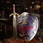 It's not dangerous to go alone when you have a real Hylian Shield by Man At Arms