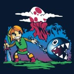 Four Legend of Zelda tees on sale at ShirtPunch today only