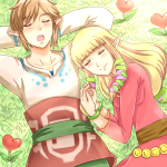 Fanart Friday: Link and Zelda