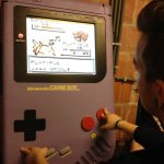 """The custom-made """"Game Boy XXL"""" is not your average handheld console"""
