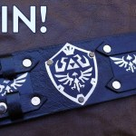 Giveaway: Win this Skyward Sword leather cuff bracelet by Ven Mehic