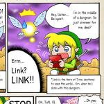 Nintendo shares an original Legend of Zelda webcomic