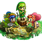Local multiplayer is required to unlock some costumes in Tri Force Heroes
