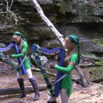 Harp Twins Camille and Kennerly perform magical rendition of the Lost Woods