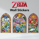 Nintendo UK Store is selling Wind Waker stained glass wall stickers