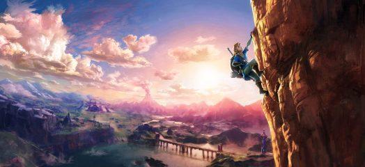 Zelda U full Rock Climbing Concept