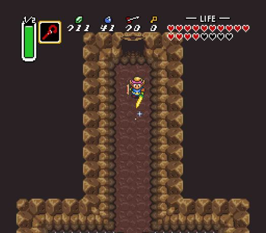 Bet you never suspected one of the game's puzzles would be how to walk through a door.