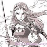 Akira Himekawa share art of Zelda and Zant for upcoming Twilight Princess manga