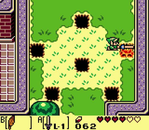 Step One To the west of the castle is the Mad Bomber, who will appear from the holes in the ground and throw Bombs at you. Stand in the middle of three of the holes and attack whenever he appears near you to get the first Leaf.
