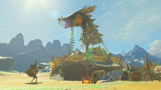 breath of the wild horse building beedle