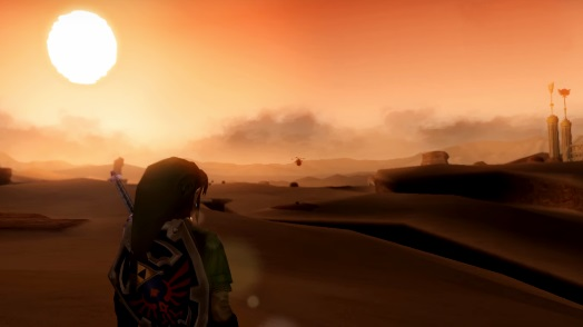 gerudo desert twilight princess